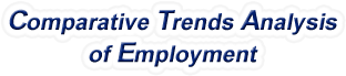 North Dakota - Comparative Trends Analysis of Total Employment, 1969-2016