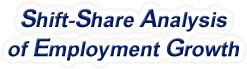 Shift-Share Analysis of North Dakota Employment Growth and Shift Share Analysis Tools for North Dakota